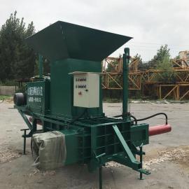 圣泰机械 自带称重卧式青储打包机 秸秆打包机 废纸打包机 ST-dbj