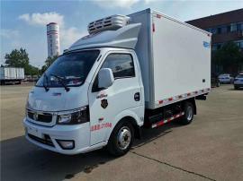 东风途逸3.5米冷藏车国六报价 中小型冷藏车
