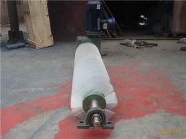 水泥�S���L刷�C �送��清�咂� �A柱形尼��毛刷刮料器