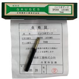 日本NHK0#十字插规 P规 吻合规 JCIS#0 GPC000 测量螺丝十字深度