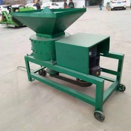 多功能蔬菜叶打浆机 新型饲料加工机械 青草打浆机