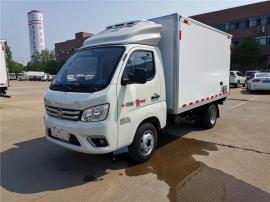国六新规小型汽油冷藏车报价 福田小型冷藏车