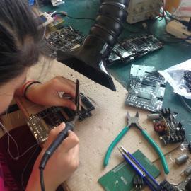 焊锡烟雾电子焊烟怎么处理 烟雾净化器吸烟机除尘器