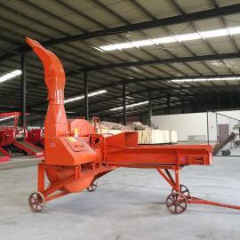 牧源机械 小型柴油式养殖铡草机 移动式新款青储铡草揉丝机 9ZP-8.0