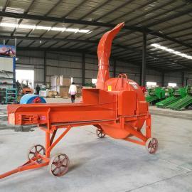 牧源机械 无尘稻草粉碎机 干湿两用自动进料秸秆铡草机 9ZP-15