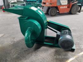 玉米秸秆青贮粉碎机 小型多功能秸秆粉碎机 秸秆压块饲料机