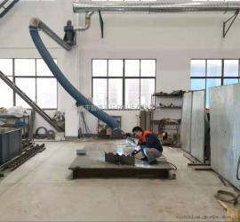 焊烟净化器吸气罩壁挂式万象吸气臂配件柔性吸烟管PVC耐高温风管