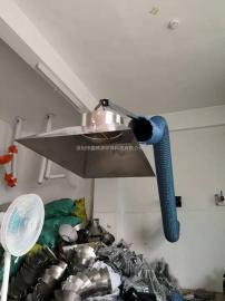 柔性阻燃耐高温吸气臂除尘吸烟臂焊烟吸气臂挂壁式万向吸气臂