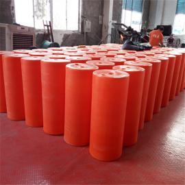 串联两端螺栓固定易安装水域拦截垃圾拦污浮筒
