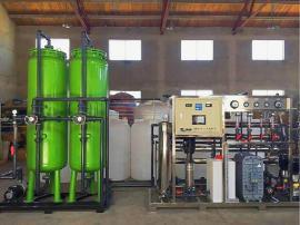 新能源企业水处理高纯水设备(二级反渗透+EDI设备)