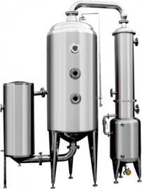 污水浓缩蒸发器 单效外循环真空浓缩蒸发罐