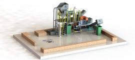螺旋�赫�C 餐厨垃圾设备 综合处理生产线 餐厨垃圾处理设备