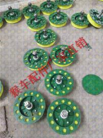 专业生产猴车配件 200型猴车托绳轮、猴车双拖轮组、单拖轮双托轮