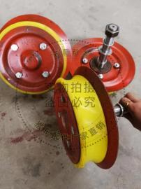 热销猴车托绳轮 单双托轮 200*146*50猴车压绳轮 双托轮