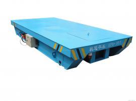 KPX30t蓄电池轨道平板车 7.5吨液压升降轨道平车 电瓶式转运车