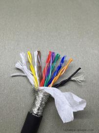 TRVSP42*0.2mm2 双绞屏蔽拖链电缆 24AWG22AWG耐折1200万次