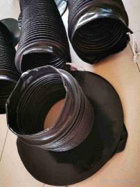 嵘实支撑式油缸防护罩 圆形防尘护罩 耐腐蚀