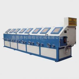环保型八组圆管抛光机 圆管砂光机 外圆打磨机LC-ZP808A