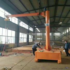 定做500kg移动式悬臂吊 2t可手推旋臂起重机