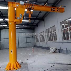 定做1吨折臂吊 2吨单臂悬臂吊车 500kg摇臂吊车 小型悬臂吊