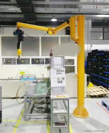 定做250kgKBK式折臂吊 1吨轻型手动悬臂吊 欧式旋臂起重机