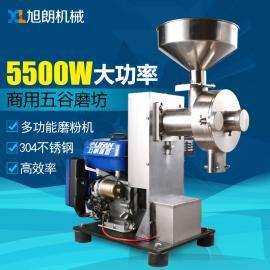 供应*新磨粉机/汽油发动机五谷杂粮磨粉机