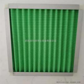 初效G4板式空气过滤器 初效G4复合网板式过滤器