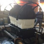 新农村改造2立方化粪池滚塑化粪池三格环保化粪池牛筋材质