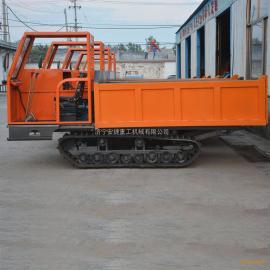 安捷小型履带运输车 农用履带底盘运输车 山地爬坡履带运输车