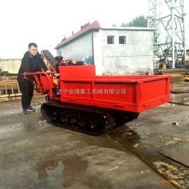 专业生产手扶履带运输车 瓜果蔬菜采摘搬运车 微型手扶式拖拉机