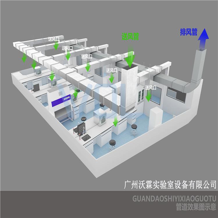 DNA提取室 PCR实验室布局 建造