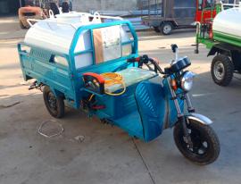 多功能小型洒水车 三轮雾炮降尘洒水车 绿化环卫洒水车工程车