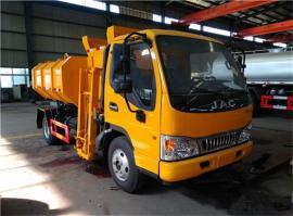 不泄漏的15吨污泥运输车,15方污泥清运车,污泥转运车报价