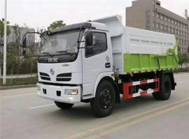 12吨污泥运输车,对接污水厂全密封清运含水污泥车