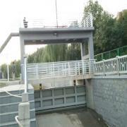 水力翻板闸门有限公司 自动翻板闸门 下卧式翻板闸门