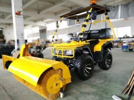 FH富华 FH-150除雪车 汽车改装扫雪车 改装推雪铲