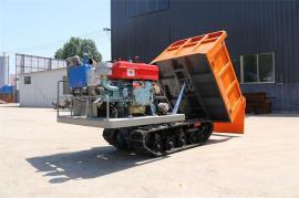 拉石头木料履带运输车 四缸工程自卸履带拖拉机