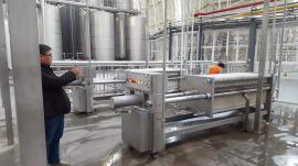 600型板框纸板过滤机-森科机械带手动液压板框纸板过滤机生产商