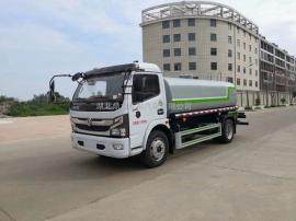 国六8吨洒水车 东风D7绿化喷洒车