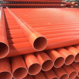 埋地PVC电力穿线管直埋管MPP顶管拖拉管200