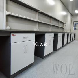 检测实验台定制 食品检测实验室建设 设计