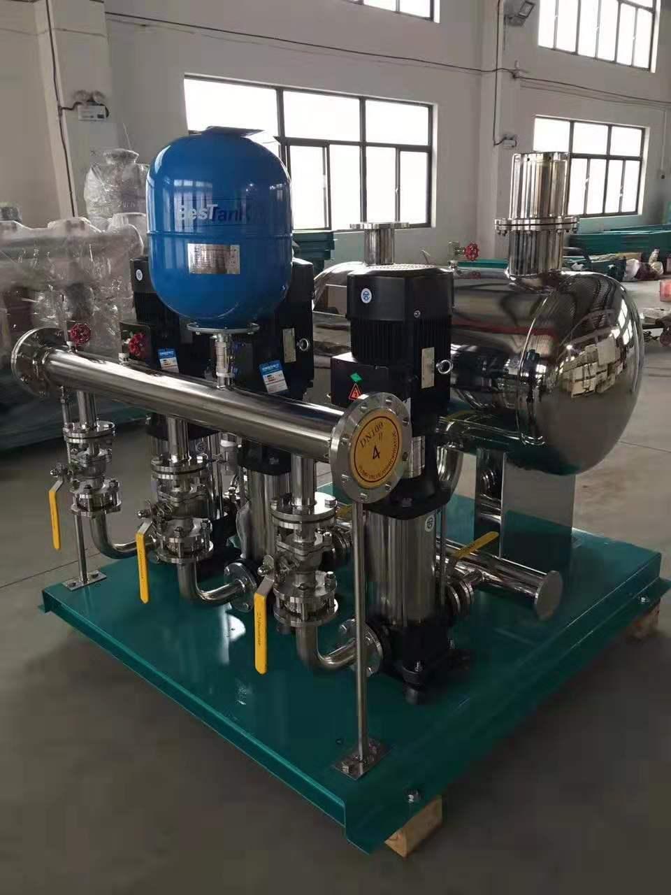 无负压稳流给水泵组/两用一备无负压供水设备