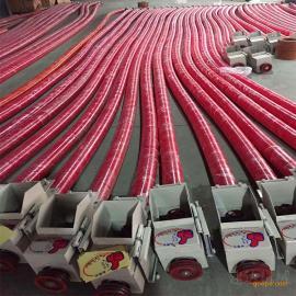 螺旋式软管蛟龙输送机 家用吸谷机
