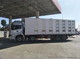 东风前四后八9.6米密闭式鸡苗运输车图片