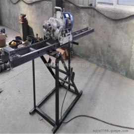 电动变速KHYD80岩石电钻 自行推进KHYD系列手持式岩石电钻