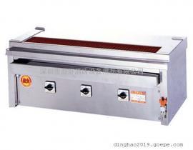 日本烧烤炉 Higo Griller 3P-215C 落地式电烧烤炉 三头电烧烤炉