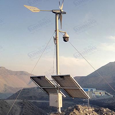 野外煤矿监控系统 风光互补供电监控系统 尚能