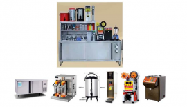 奶茶店设备采购,进奶茶店的设备的地方,制作茶饮设备