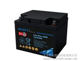 路盛RUZET蓄电池12LPA50/12v50型号报价现货销售