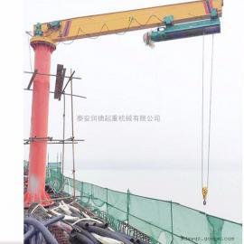 定做BZD3吨定柱式悬臂吊 10吨旋臂式起重机360度旋转